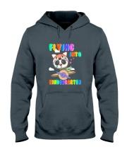 Flying Into Kindergarten  Hooded Sweatshirt thumbnail