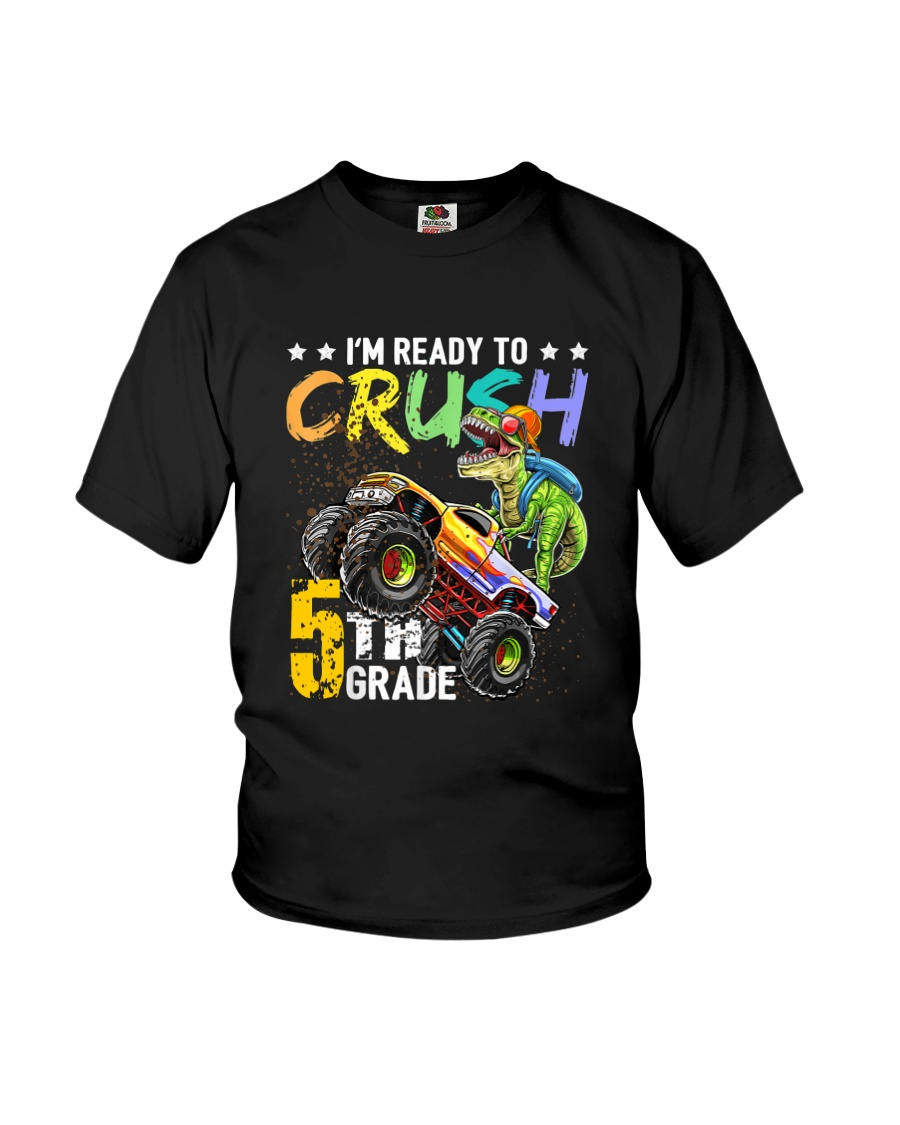 Monster Truck 5th Grade Youth T-Shirt