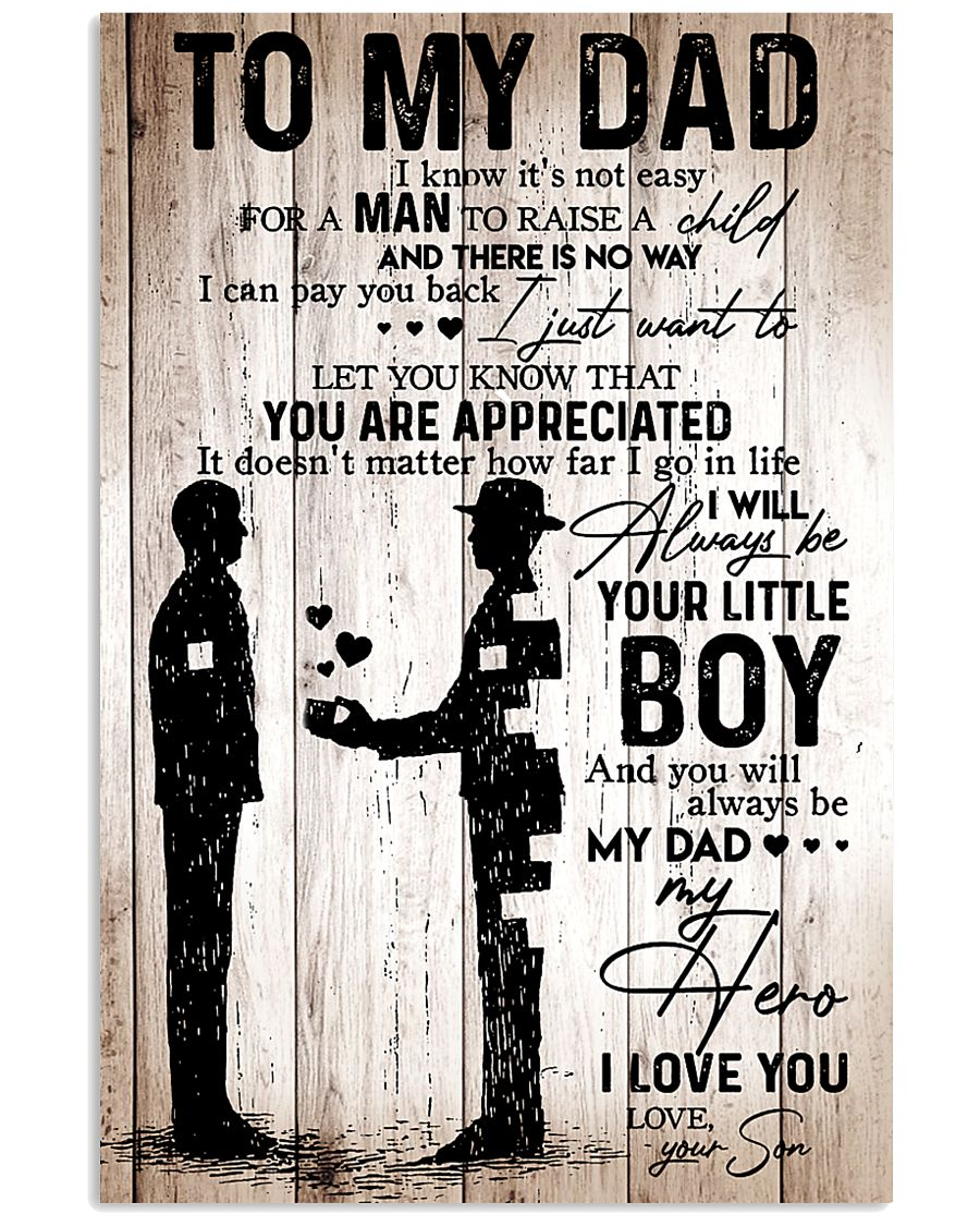 Son To Dad 11x17 Poster