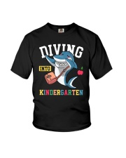 Diving Into Kindergarten Youth T-Shirt front