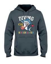 Diving Into Kindergarten Hooded Sweatshirt thumbnail