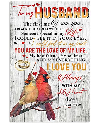 To My Husband I Could Feel It In My Heart