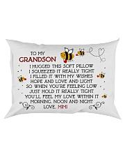 mimi-grandson Rectangular Pillowcase front