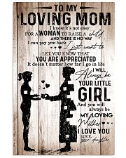 To My Mom 2 11x17 Poster front
