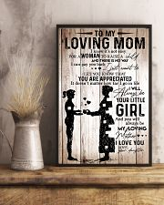 To My Mom 2 11x17 Poster lifestyle-poster-3