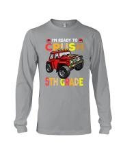 Monster Truck Crush 5th Grade   Long Sleeve Tee thumbnail