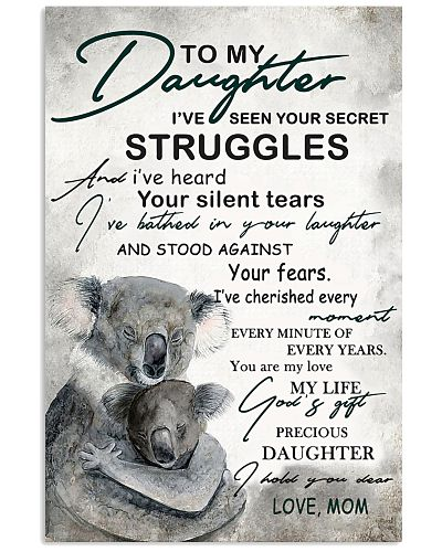To My Daughter I've Seen Your Secret