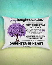 To My Daughter In Law  Rectangular Pillowcase aos-pillow-rectangle-front-lifestyle-3