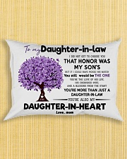 To My Daughter In Law  Rectangular Pillowcase aos-pillow-rectangle-front-lifestyle-6