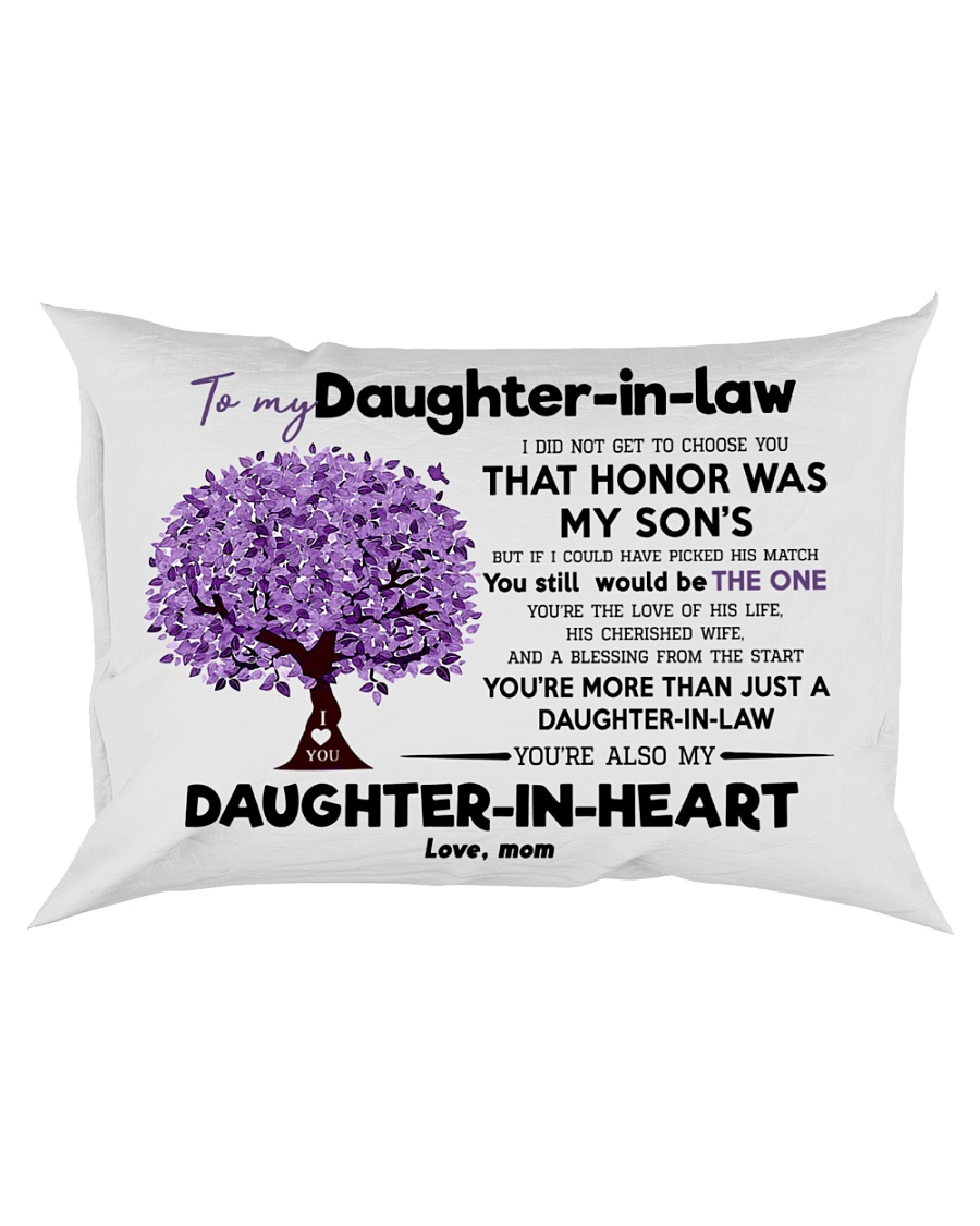 To My Daughter In Law  Rectangular Pillowcase