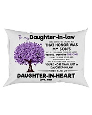 To My Daughter In Law  Rectangular Pillowcase front