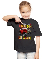 Monster Truck Crush 1st Grade   Youth T-Shirt lifestyle-youth-tshirt-front-2