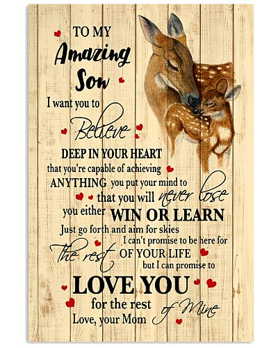 To My Amazing Son