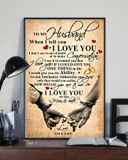 To My Husband When I Tell You I Love You 11x17 Poster lifestyle-poster-2