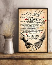 To My Husband When I Tell You I Love You 11x17 Poster lifestyle-poster-3