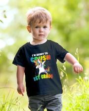 1st grade Unicorn Ready to Crush 3  Youth T-Shirt lifestyle-youth-tshirt-front-5