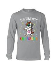 Flossing Into Kindergarten Long Sleeve Tee thumbnail