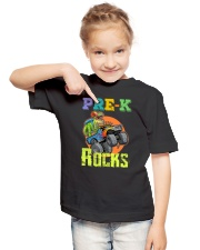Pre-K Rocks Youth T-Shirt lifestyle-youth-tshirt-front-2