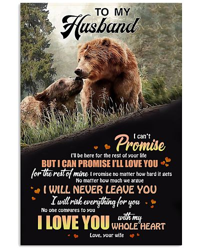 To My Husband I Will Never Leave You