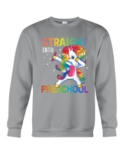 Straight Into Preschool Crewneck Sweatshirt thumbnail