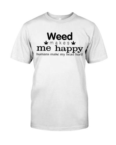 Weed Makes Me Happy