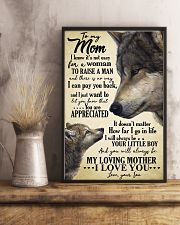 To My Mom I Know Its Not Easy Gor A Woman 11x17 Poster lifestyle-poster-3