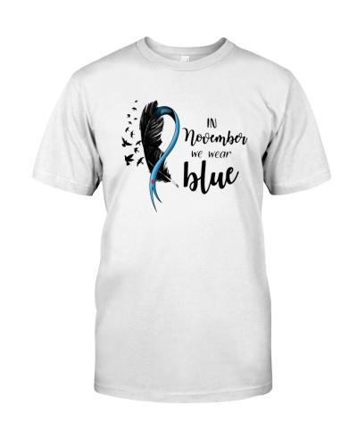 Awareness Wear Blue Diabetes HBH  08