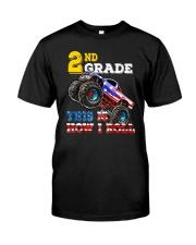 2th Grade Truck USD Roll  Classic T-Shirt thumbnail