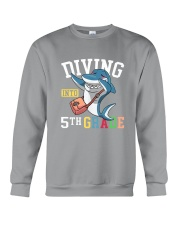 Diving Into 5th Grade Crewneck Sweatshirt thumbnail
