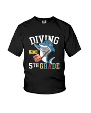 Diving Into 5th Grade Youth T-Shirt front