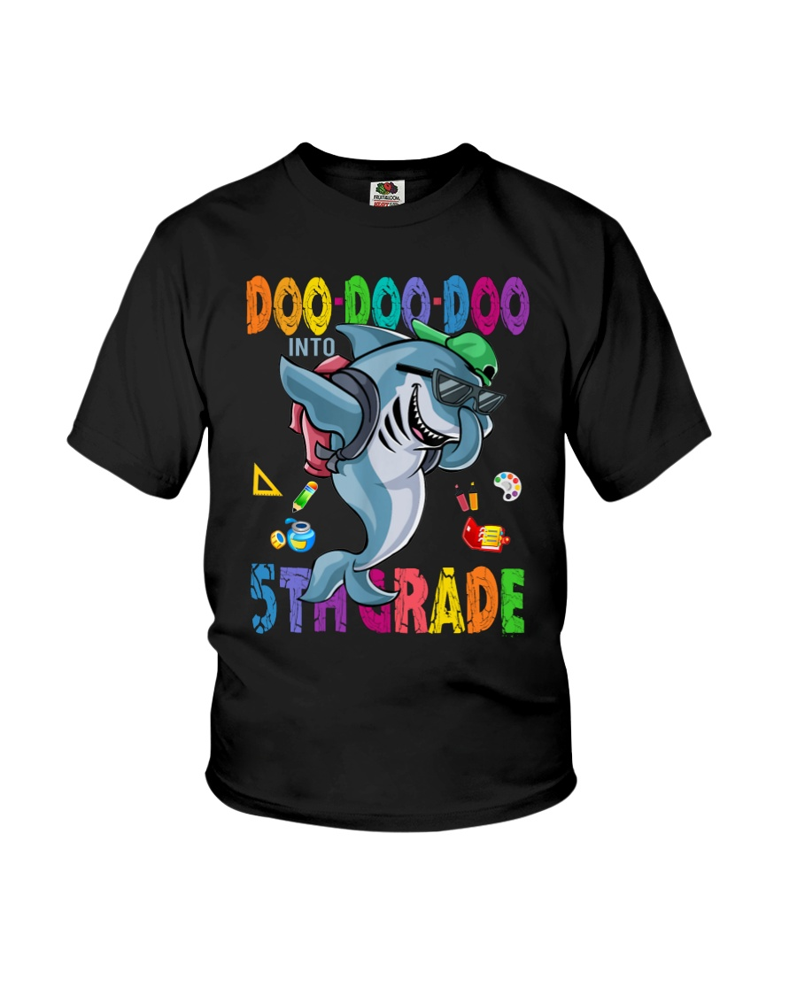 Doo Doo Doo Into 5th Grade Youth T-Shirt