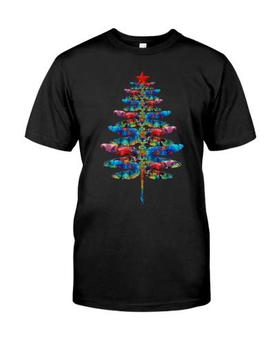 Dragonfly Tree Xmas Blue HBH  04