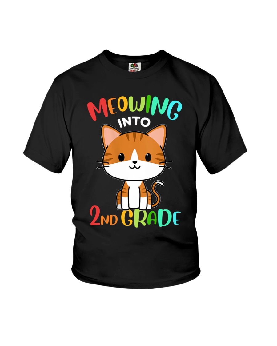 Meowing Into 2nd Grade Youth T-Shirt