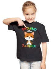 Meowing Into 2nd Grade Youth T-Shirt lifestyle-youth-tshirt-front-2