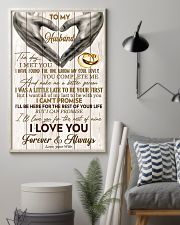 To My Husband The Day I Met You 11x17 Poster lifestyle-poster-1