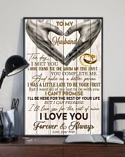 To My Husband The Day I Met You 11x17 Poster lifestyle-poster-2