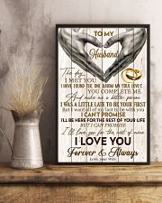 To My Husband The Day I Met You 11x17 Poster lifestyle-poster-3