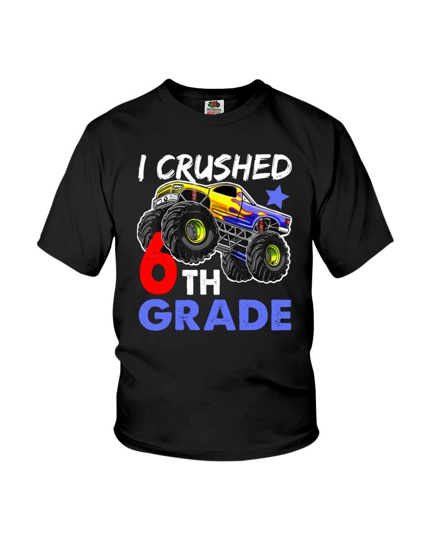 I Crushed 6th Grade Youth T-Shirt