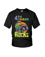 4th Grade Rocks Youth T-Shirt front