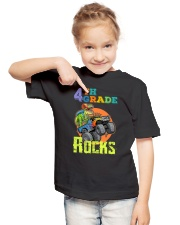 4th Grade Rocks Youth T-Shirt lifestyle-youth-tshirt-front-2