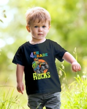 4th Grade Rocks Youth T-Shirt lifestyle-youth-tshirt-front-5