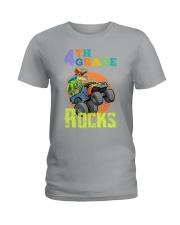 4th Grade Rocks Ladies T-Shirt thumbnail