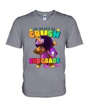 Crush 2nd Grade 2 V-Neck T-Shirt thumbnail