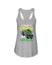 Monster Truck Crush 2nd Grade  Ladies Flowy Tank thumbnail