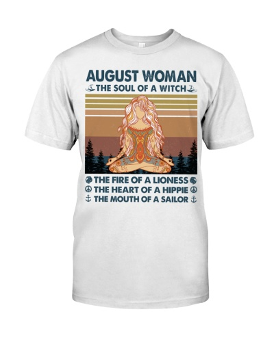 August Woman Witch Lioness Hippie Sailor