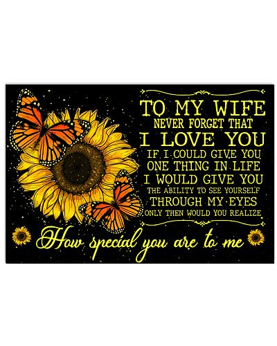 To My Wife Never Forget That