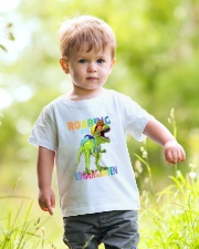 Family Roaring Into Kindergarten Youth T-Shirt lifestyle-youth-tshirt-front-5