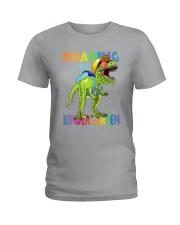 Family Roaring Into Kindergarten Ladies T-Shirt thumbnail