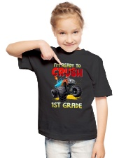Crush 1st Grade - Truck  Youth T-Shirt lifestyle-youth-tshirt-front-2