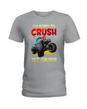 Crush 1st Grade - Truck  Ladies T-Shirt thumbnail
